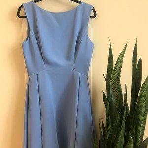 Reiss Blue High-Low Dress